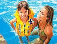 Жилет надувний дитячий 50-47см Intex 58660 NP «Школа плавання», фото 5
