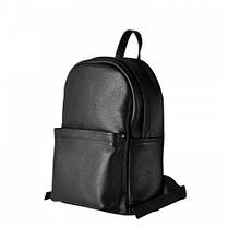 Кожаный рюкзак Jizuz Carbon CN372811B, черный