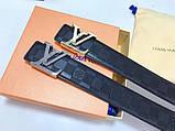 Пояс, ремень Луи Витон канва Monogram, кожаная реплика, фото 2