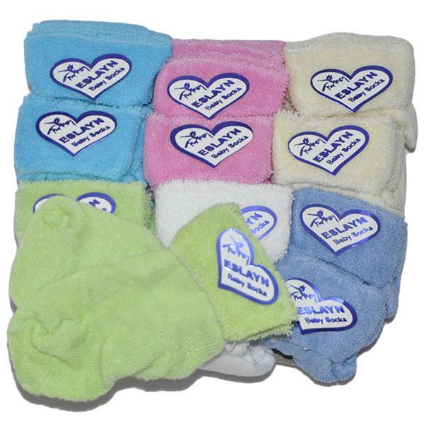 Детские Носочки на махре до года ( мин. заказ 1 упаковка)
