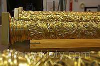 Позолота сусальным золотом резных панно и колонн  иконостаса., фото 3