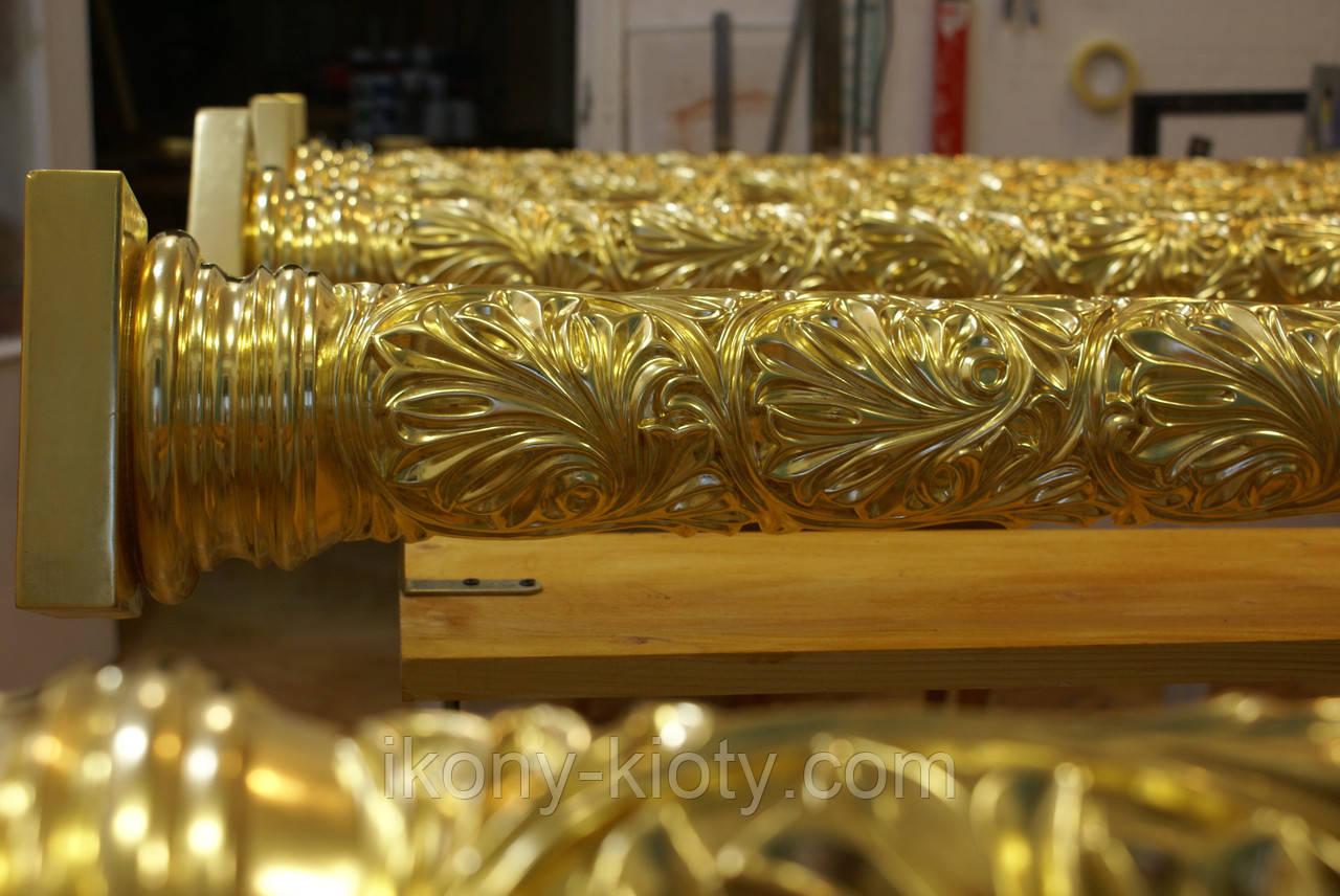 Покрытие сусальным золотом технология услуги по изготовление памятников липецк