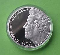 Нидерланды 10 гульденов 1995 г. 300 лет со дня смерти Гуго Гроция., фото 1