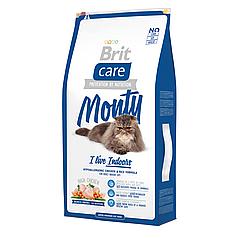 Корм Brit Care Cat  Monty I am Living Indoor (для кошек живущих в помещении) 7 кг