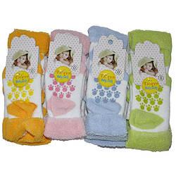 Детские Носочки на махре с тормозами  ( мин. заказ 1 упаковка)