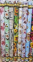 Столовая глянцевая клеёнка на тканной основе Фотопринт (Качественная яркость и четкость рисунка) 140 см * 20 м