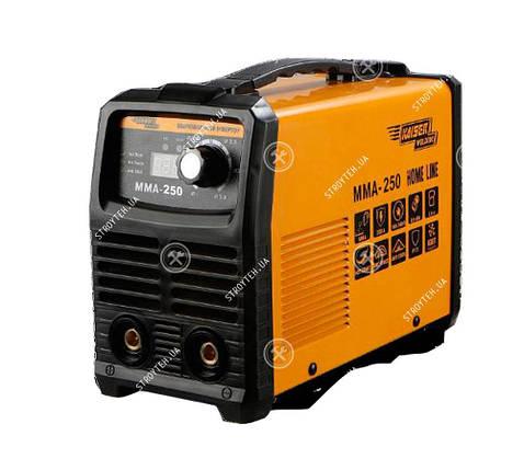 Инверторный сварочный аппарат для дома 250 Ампер, дисплей Kaiser MMA 250 Home Line с защитой от перегрева, фото 2