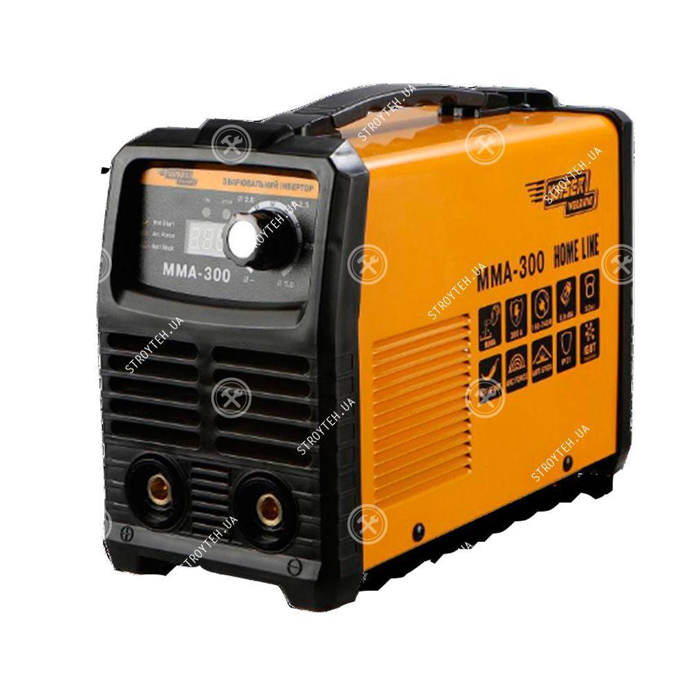 Сварочный инвертор 300 Ампер, дисплей, кейс Kaiser MMA-300 Home Line