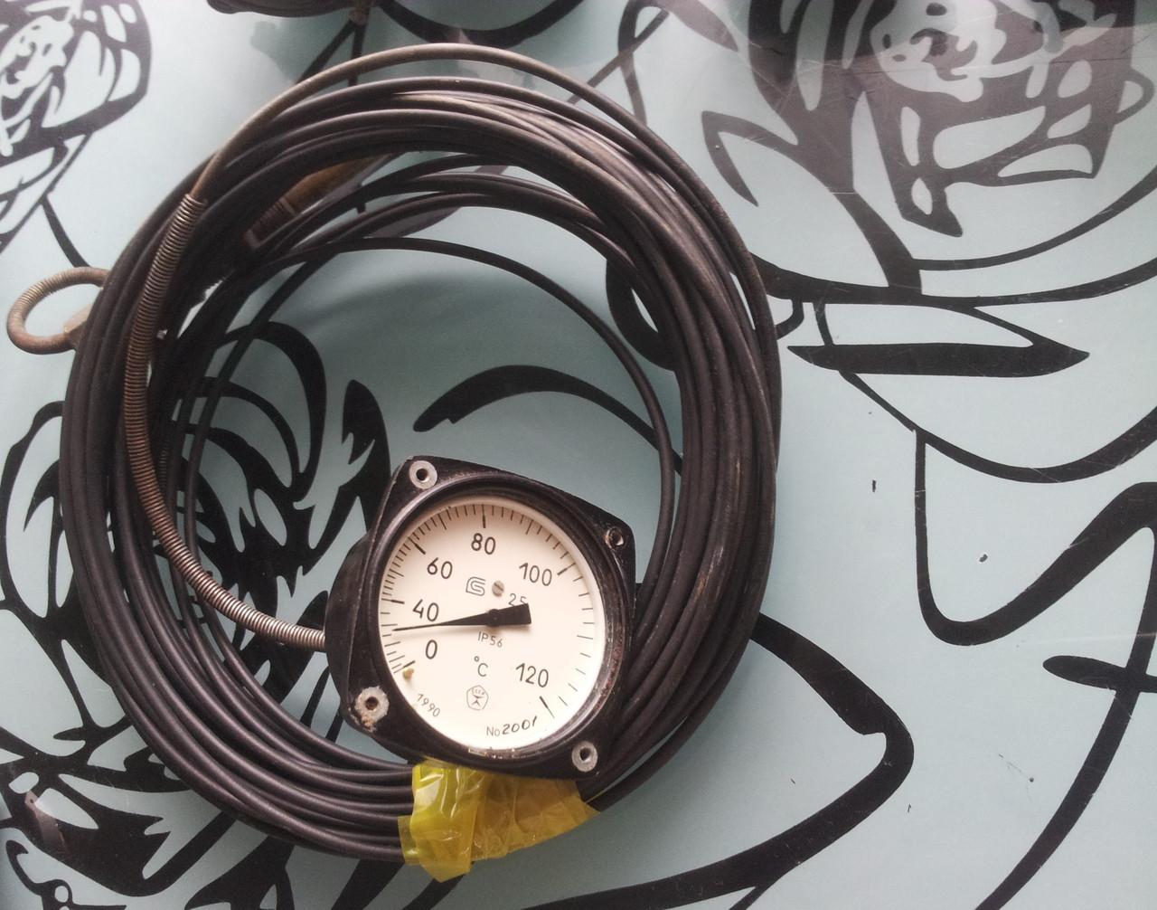 Термометр ТКП-60/3М (0 +120) капиляр від1,6м до 12м