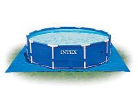 Каркасный бассейн intex 28202 в комплекте с фильтр насосом (56999) metal frame pool (305x76 см) hn kk