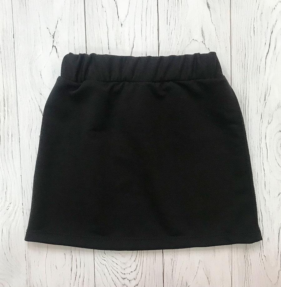 Черная юбка для девочки
