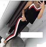 Модный женский летний костюм,ткань софт,размеры:42,44,46,48., фото 2
