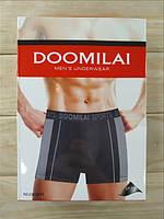 Мужские трусы боксёры хлопок+бамбук Doomilai (ростовка XL-2XL-3XL-4Xl)  ТМБ-1811536
