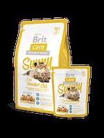 Корм Brit Care Cat  Sunny I have Beautiful Hair (здоровья кожи и шерсти)