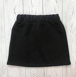 Чорна шкільна спідниця для дівчинки