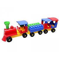 Конструктор для малышей «Волшебный поезд» 0274 Технок