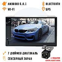 Автомагнитола 2DIN 6511 Android 6.0.1 GPS, Wi-Fi, магнитола 2 ДИН в авто (магнітола 2 дін, магнітофон), фото 1