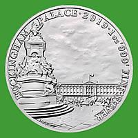 Великобритания 2 фунта 2019 г. Букингемский дворец (серебро 999 пробы , 1 унция)