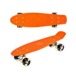 "Пенниборд (Penny Board) ""Best Board"" (оранжевый) S30470"