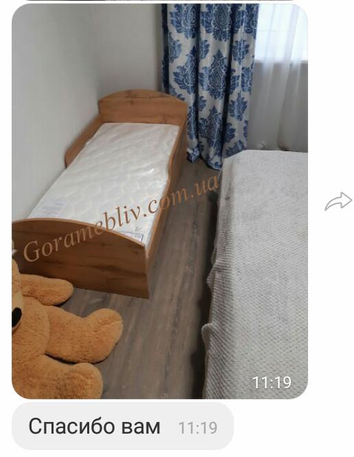 """На фото: кровать """"Детская Новая"""" (отзыв покупателей)"""