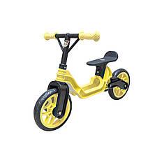 Мотоцикл, Велосипед, велобіг  Orion 503, складається, регулюється по висоті, колеса з пінки, колір жовтий