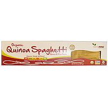 "Натуральные спагетти киноа NOW Foods ""Organic Quinoa Spaghetti"" без глютена (227 г)"