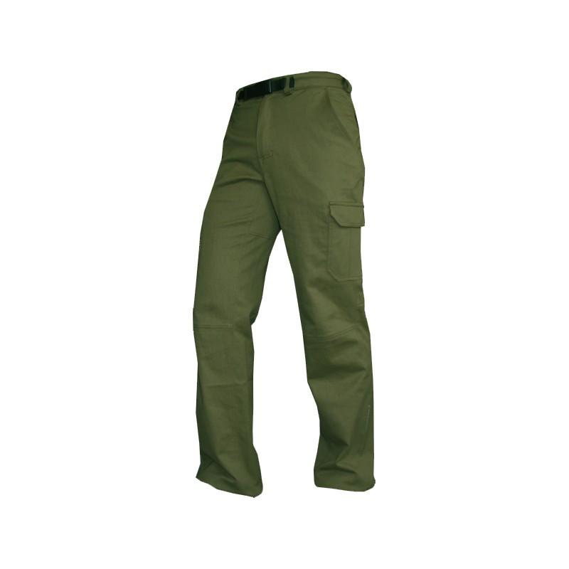 Коттоновые брюки Neve Sunrise olive для охоты и туризма