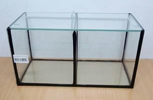 Аквариум прямоугольный для петушков 34*17*17  10л. 2 секции, фото 2