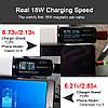 Магнитный кабель USB Type-C Topk для зарядки и передачи данных (Черный, 1м), фото 2