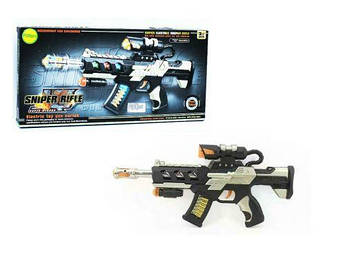 """Игрушечный автомат """"Sniper Rifle"""" (звук, свет) JQ3088B"""