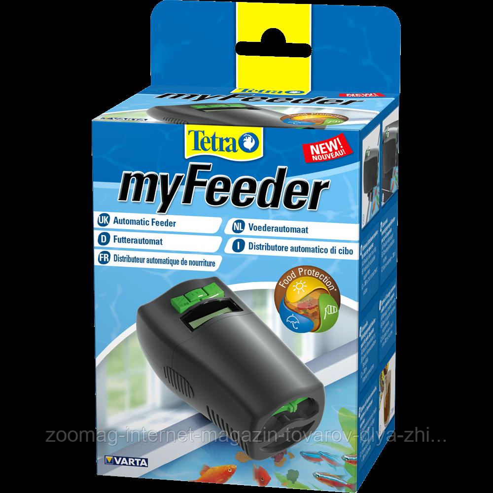 """Автоматична годівниця """"myFeeder Black"""" для акваріумних риб, Tetra™"""