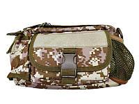 Сумка на пояс тактическая Спартак N02226 Pixel Desert Камуфляж (007419)