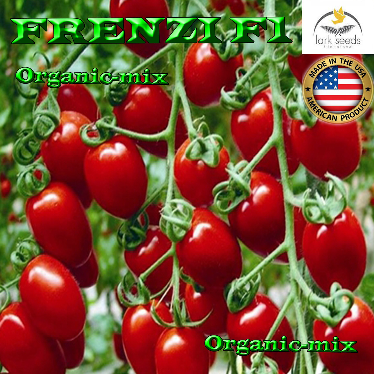 Семена, томат Черри (низкорослый)  ФРЕНЗИ F1, ТМ Lark Seeds, 5000 семян