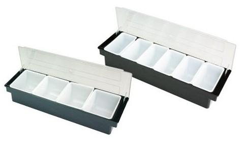 Барный ящик с крышкой на 6 секций, Польша