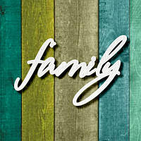 """Чипборд """"Family 1"""""""