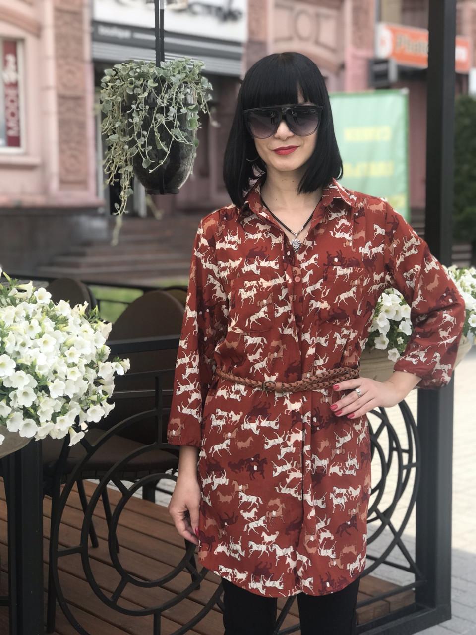 Блуза туника в стиле H&M женская