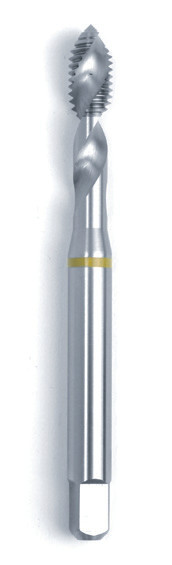 Машинний мітчик/RSP 45° DIN 371 (2184-1) 6H HSSE Form C/RSP 45° жовте кільце M8  GSR Німеччина