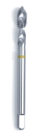 Машинний мітчик DIN 376 (2184-1) 6H HSSE Form C/RSP 45° жовте кільце M 30  GSR Німеччина