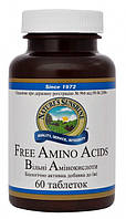 Свободные аминокислоты с L-карнитином и магнием Free amino acids NSP - 60 кап - NSP, США