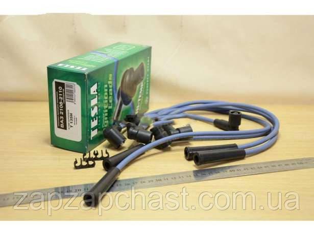 Провода свечные зажигания Ваз 2108-2109 21099 2110 тесла зеленая T135H