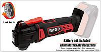 Многофункциональный инструмент аккумуляторный YATO 18В (без аккумулятора и зарядного устройства)