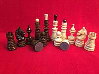 Шахматные фигуры резные деревянные с орнаментом Украина