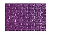 Панель стеновая 3D 700х770х7мм ФИОЛЕТОВЫЙ (кирпич)(80) BG 16