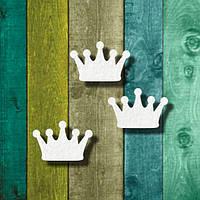 """Чипборд """"Набор корон"""""""