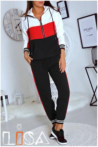 Женский спортивный костюм с манжетами, фото 2
