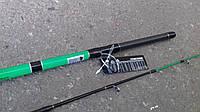 Спиннинг штекерный   зеленый  weida Concord   2.1 м карбоновый  ( SIC-кольца)  50 -150 гр тест