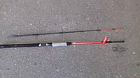 Спиннинг штекерный   красный  weida Concord  2.1 м карбоновый  (weida Concord  SIC-кольца)  50 -150 гр тест
