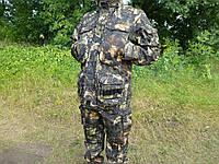 """Демисезонный камуфляжный костюм   дюспобондинг  повышенной плотности  """" непроходимая чаща"""""""