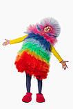 Фьека Разноцветный женский карнавальный костюм / BL - ВМ263, фото 3