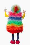 Фьека Разноцветный женский карнавальный костюм / BL - ВМ263, фото 4